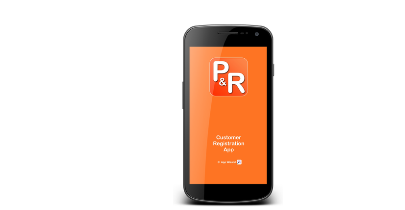 P and R App Handset Image